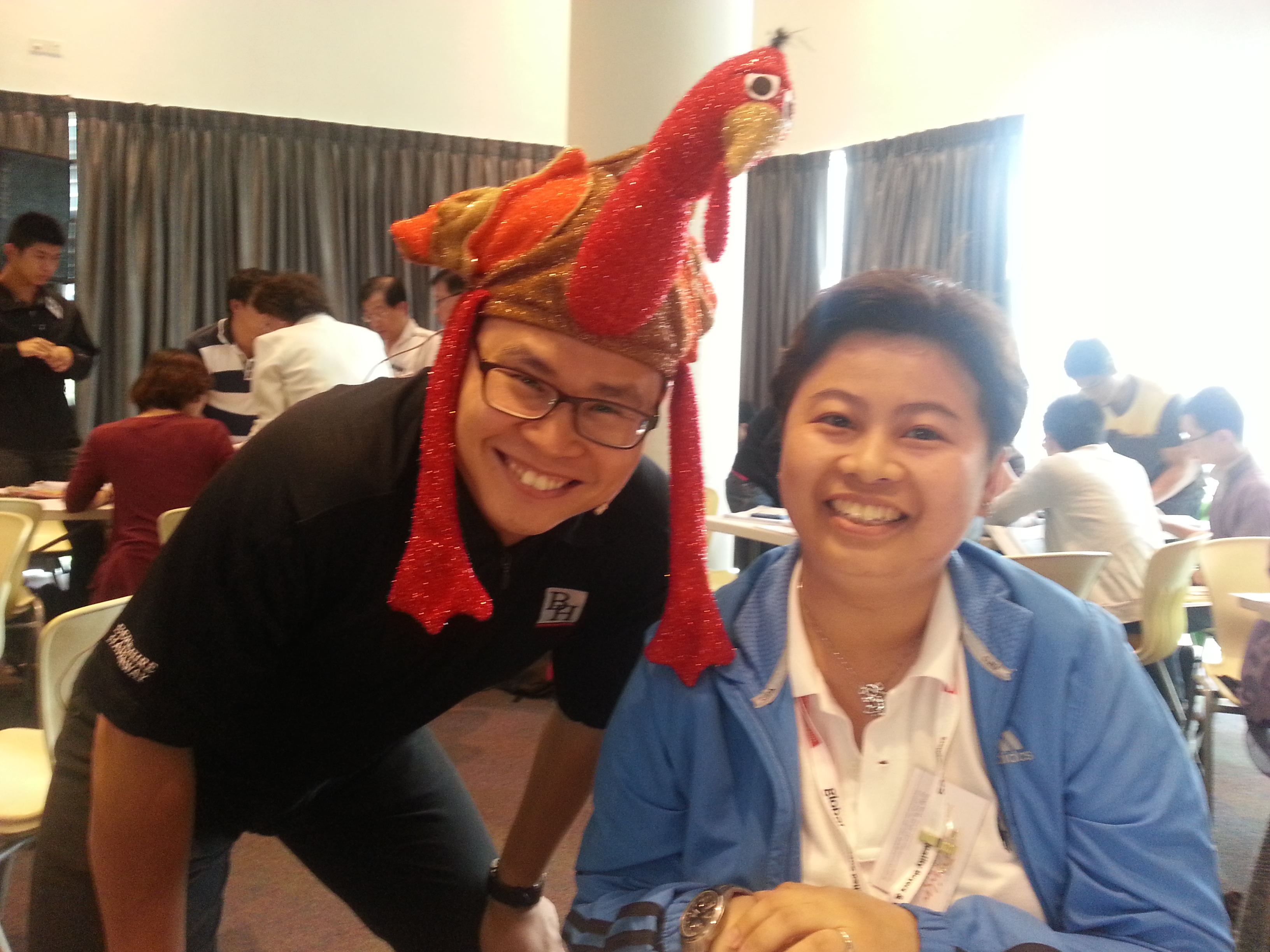Ken Chee and me